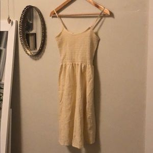 Beige brandy Melville dress
